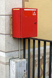 Scatola rossa Immagini Stock