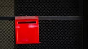 Scatola rossa della polizia per l'indice di sicurezza fotografie stock