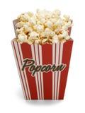 Scatola di popcorn del burro immagine stock