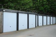 Scatole del garage per affitto Immagini Stock