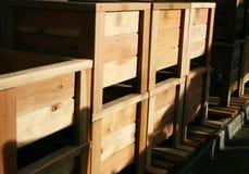 Scatole della piantatrice Immagini Stock Libere da Diritti