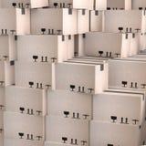 Scatole di cartone Immagini Stock