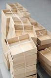 Scatole di legno Fotografia Stock