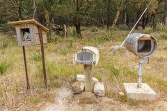Scatole di lettera del paese in Australia immagine stock libera da diritti