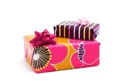 Scatole di regali Immagine Stock