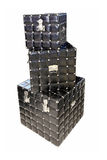Scatole nere Fotografia Stock Libera da Diritti