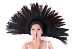 Scatter hair Stock Photography