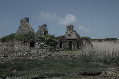 Scatter Island Ruin Royalty Free Stock Image