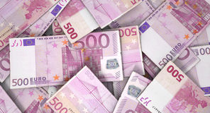 Scattered Banknote Pile Royalty Free Stock Photo