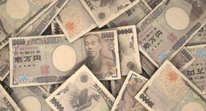 Scattered Banknote Pile Royalty Free Stock Photos