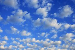 Scattered Clouds Stock Images