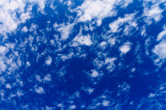 Scattered clouds Royalty Free Stock Photo