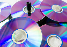 Scattered discs Stock Photo