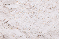 Scattered flour background Royalty Free Stock Photography
