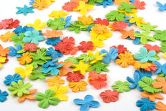 Scattered flowers Royalty Free Stock Photography
