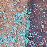 Scattered glass Royalty Free Stock Photos