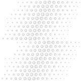 Scattered handdrawn spots Royalty Free Stock Photography
