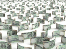 Scattered Indian Rupee Royalty Free Stock Photography