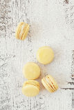 Scattered Macarons Stock Image