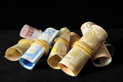 Scattered Money Stock Images