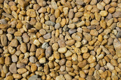 Scattered pebbles Stock Image