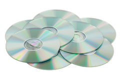 Scattered pile of CDs Stock Images