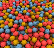 Scattered Question Balls Royalty Free Stock Photo