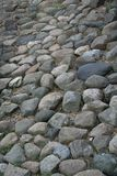 Scattered rocks. Scattered grey rocks in Norway Royalty Free Stock Photography