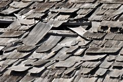 Scattered Shingles Royalty Free Stock Photo