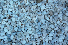 Blue tone Stones. Scattered stones with a blueish tint to them Stock Photography