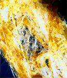 Scattering ambrato nei grafici royalty illustrazione gratis