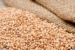 Scattering of buckwheat Royalty Free Stock Photos