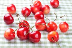 A scattering of cherry Stock Photography
