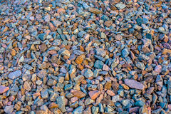 Scattering of stones. Background from a scattering of stones Stock Photo