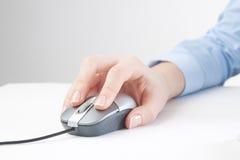 Scatto di mouse immagine stock libera da diritti
