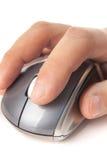 Scatto di mouse immagine stock