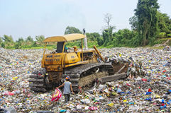SCAVENGER do lixo imagens de stock