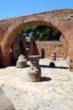 Scavi Archaeological - rovine romane Fotografie Stock
