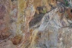 Scavi della cava di ghiaia immagini stock libere da diritti