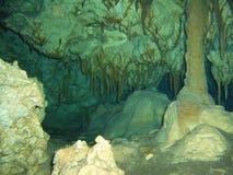 Scavi l'immersione subacquea Fotografie Stock