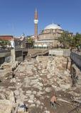 Scavo archeologico a Sofia Fotografia Stock