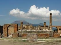 Scavo di Pompei Immagine Stock
