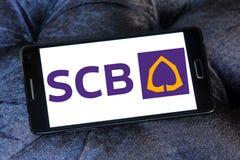 SCB, Εμπορική τράπεζα του Σιάμ στοκ εικόνες