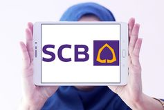 SCB, Siam Commercial Bank Zdjęcie Royalty Free