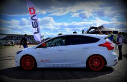 SCC ford focus mk3 Royalty Free Stock Photo