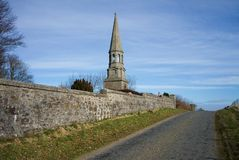 Sccotland del aberdeenshire dei cervi del monumento di Culsh nuovo Fotografie Stock