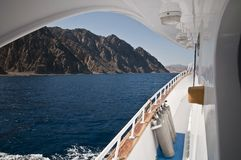 Sccuba live aboard in the Red sea Stock Photos