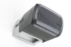 Sceau automatique rectangulaire gris Images stock