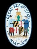 Sceau d'état du Maryland Image stock