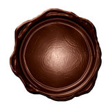 Sceau de chocolat illustration libre de droits